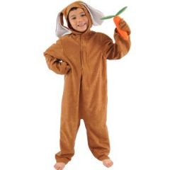 Brown Rabbit Lite Costume